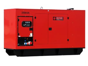 EUROPOWER EPS 250 TDE Дизельный генератор EUROPOWER EPS 250 TDE в кожухе