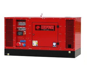 EUROPOWER EPS 44 TDE Дизельный генератор EUROPOWER EPS 44 TDE в кожухе